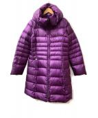 MAX MARA WEEK END LINE(マックスマーラ ウイークエンドライン)の古着「中綿コート」 パープル