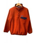 Patagonia(パタゴニア)の古着「SYNCHILLA スナップT」 オレンジ
