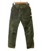 SASSAFRAS(ササフラス)の古着「コーデュロイガーデニングパンツ」|オリーブ