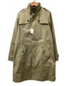 SHIPS(シップス)の古着「スタンドカラートレンチコート」|オリーブ