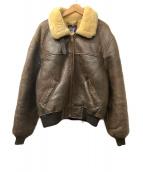 AVIREX(アビレックス)の古着「フライトジャケット」 ブラウン