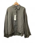 Luis(ルイス)の古着「レーヨンショートシャツ」|グレー