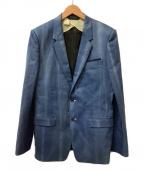 DIESEL×N.HOOLYWOOD(ディーゼル × エヌ ハリウッド)の古着「テーラードジャケット」|ブルー