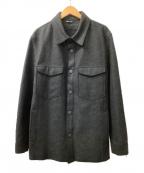 C.P COMPANY(シーピーカンパニー)の古着「ウールジャケット」|グレー