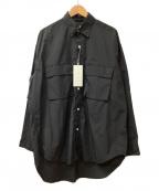 Luis(ルイス)の古着「ナイロンシャツ」|ブラック