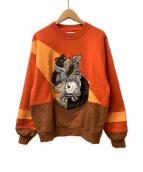 CASTELBAJAC(カステルバジャック)の古着「スウェット」|オレンジ
