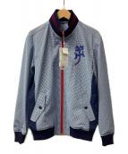 ()の古着「トラックジャケット」 ブルー