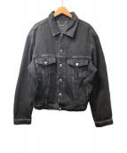 BALENCIAGA(バレンシアガ)の古着「デニムジャケット」|ブラック