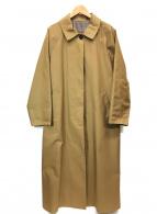 ()の古着「ステンカラーコート」|カーキ