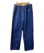 WESTOVERALLS(ウエストオーバーオールズ)の古着「ストレートデニムパンツ」 インディゴ