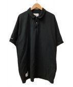 WTAPS(ダブルタップス)の古着「ポロシャツ」|ブラック