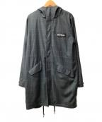 WILD THINGS(ワイルドシングス)の古着「フーデッドコート」|ブラック