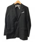 BLACK LABEL CRESTBRIDGE(ブラックレーベルクレストブリッジ)の古着「テーラードジャケット」|ブラック