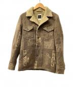 IROQUOIS(イロコイ)の古着「ジャケット」 ベージュ