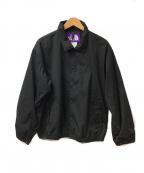 THE NORTHFACE PURPLELABEL(ザノースフェイス パープルレーベル)の古着「コーチジャケット」|ブラック