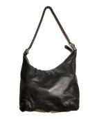 ()の古着「チェーンショルダーバッグ」|ブラック