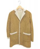 BEAMS(ビームス)の古着「フェイクムートンコート」|ブラウン