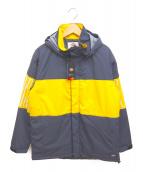 Dickies(ディッキーズ)の古着「ナイロン中綿ジャケット」|ネイビー×イエロー