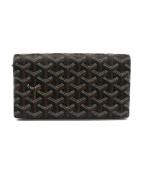 GOYARD()の古着「長財布」|ブラウン×ブラック
