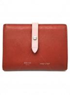 CELINE(セリーヌ)の古着「2つ折り財布」 ピンク
