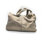 FALORNI(ファロルニ)の古着「トートバッグ」|シャンパンゴールド