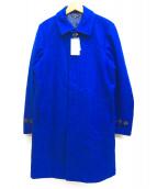 URBAN RESEARCH(アーバンリサーチ)の古着「メルトンステンカラーコート」|ブルー