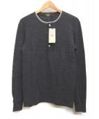 RRL(ダブルアールエル)の古着「ヘンリーネックシャツ」|グレー