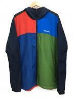 Columbia(コロンビア)の古着「ボーズマンロックジャケット」|ブルー×グリーン