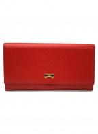 NINA RICCI(ニナリッチ)の古着「長財布」|レッド