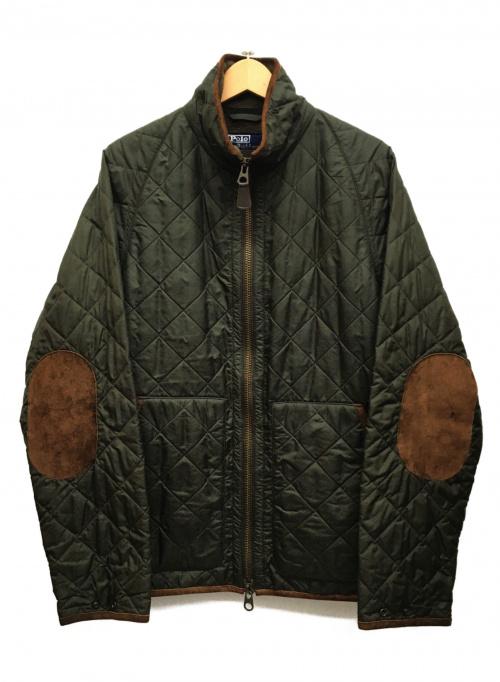 POLO RALPH LAUREN(ポロラルフローレン)POLO RALPH LAUREN (ポロラルフローレン) キルティングジャケット グリーン サイズ:L 秋冬物の古着・服飾アイテム