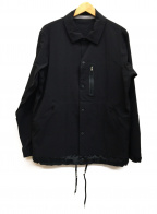 GRAMICCI()の古着「コーチジャケット」 ブラック