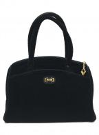 FEILER(フェイラー)の古着「ハンドバッグ」|ブラック