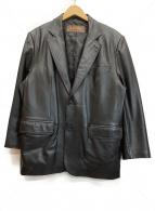 BALMAIN(バルマン)の古着「レザージャケット」|ブラック
