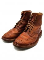 Trickers(トリッカーズ)の古着「カントリーブーツ n2508」|ブラウン