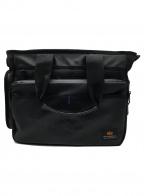 ALPHA INDUSTRIES(アルファインダストリーズ)の古着「ビジネスバッグ」|ブラック