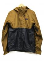 Patagonia(パタゴニア)の古着「トレント3Lジャケット」|ブラウン