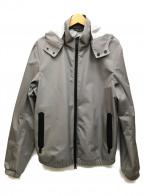 ARMANI JEANS(アルマーニジーンズ)の古着「防水フーディジャケット」|グレー