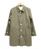maillot(マイヨ)の古着「シングルコート」 カーキ