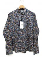 ()の古着「長袖シャツ」 ブルー