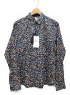 TAKEO KIKUCHI(タケオキクチ)の古着「長袖シャツ」 ブルー