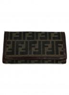 FENDI()の古着「2つ折り財布」|ブラウン