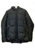 ()の古着「ダウンベンチコート」|ブラック
