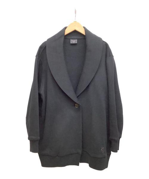 LACOSTE(ラコステ)LACOSTE (ラコステ) コクーンシルエットスウェット ブラック サイズ:Lの古着・服飾アイテム