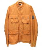 BELSTAFF(ベルスタッフ)の古着「ナイロンジャケット」|オレンジ