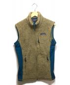 Patagonia(パタゴニア)の古着「Classic Retro-X Vest」|ベージュ×ブルー