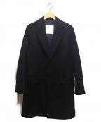 MACKINTOSH PHILOSPHY(マッキントッシュ フィロソフィー)の古着「ショートビーバー チェスターフィールドコート」|ネイビー