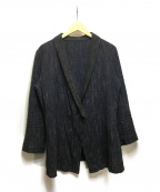 THE Sakaki(ザ サカキ)の古着「居間着(甲&丙)」|ネイビー