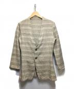 THE Sakaki(ザ サカキ)の古着「シングルスーツ」|ベージュ