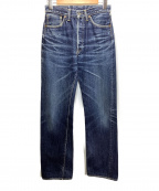THE FLAT HEAD(ザ・フラットヘッド)の古着「デニムパンツ」|ブルー
