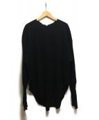 Americana(アメリカーナ)の古着「サーマルバックヘンリーTシャツ」|ブラック